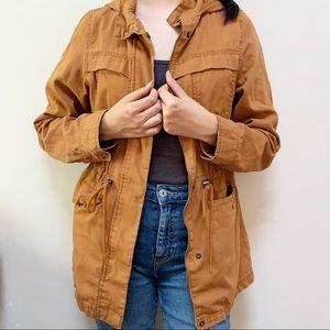 Universal Thread Cognac Brown Anorak Jacket